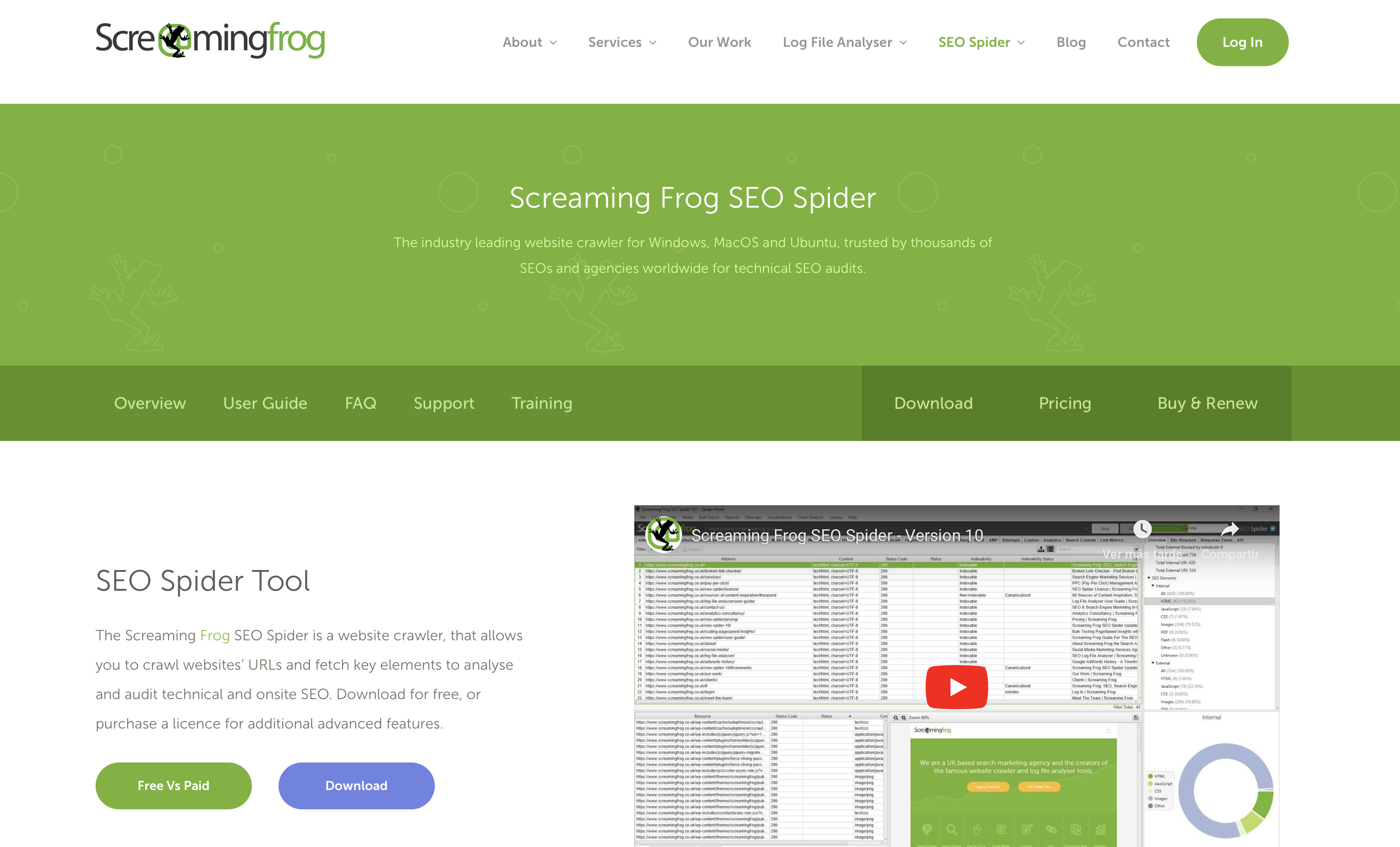 Screaming Frog Yuplace